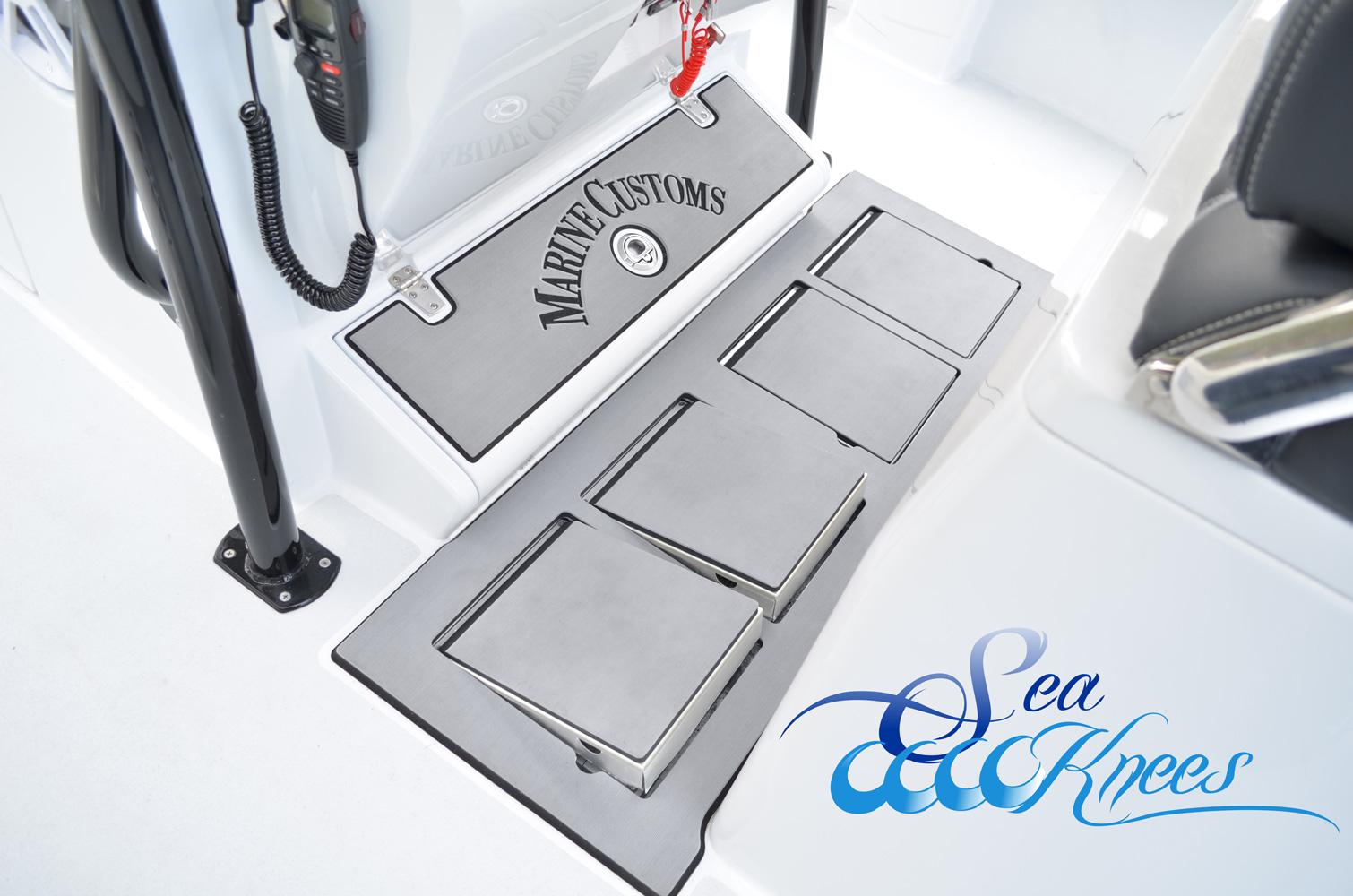 SeaKnees Double Flush Mount Permanent Custom Built In